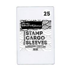 Brutus Monroe Stamp Cargo Sleeves - Pockets,  stamp and Die Storage - 25 count by PNWCrafts on Etsy