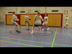 4 Great Basketball Warm Up Team Drills for Youth Teams - YouTube