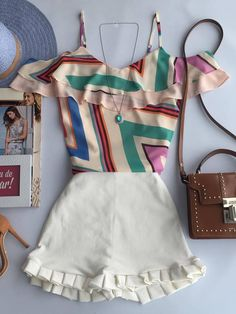 Imagem 1 Pretty Outfits, Cool Outfits, Summer Outfits, Casual Outfits, Fashion Outfits, Love Fashion, Autumn Fashion, Fashion Looks, Womens Fashion