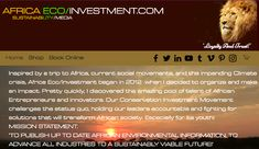 #Africa #ECommerce #Sustainability #Media #THENEWECONOMY #SWD #GREEN2STAY Hey Team , working on a *new site for Africa Eco/Investment , 'Loyalty And Trust!' 🎯🤔💚💵🦁🖥️⌨️💻📱 Green2Stay 'make eco fun' Trust And Loyalty, Sustainable Tourism, News Sites, Books Online, Ecommerce, Sustainability, Investing, Africa, How To Make