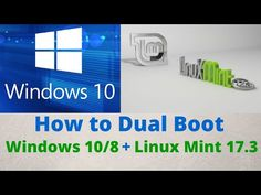 How to Dual Boot Windows 10/8.1/8 and Linux Mint 17.3 Rosa with Bootable USB Drive Step-by-Step [HD] - YouTube