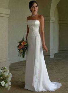 "Robe de mariée empire ""Lois"""
