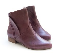 Eggplant any one? http://liebling-shoes.com/english/shop/new-arrivals/arya-booties-eggplant.html
