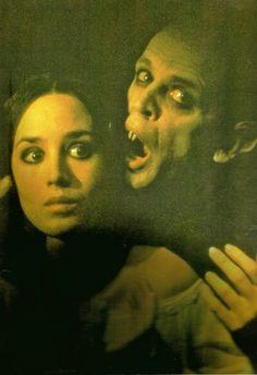 """Isabelle Adjani and Klaus Kinski, """"Nosferatu the Vampyre"""" (1979). Veja também: http://semioticas1.blogspot.com.br/2011/09/elogio-do-vampiro.html"""