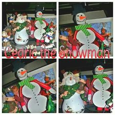 What the E.L.F.? Cedric the Snowman was a jolly happy soul! Happy ELFMAS!