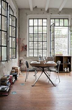 Studio Krishka: Interior inspiration: Industrial window