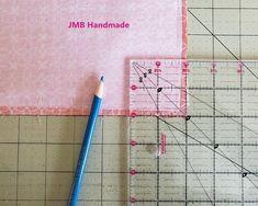 How to Make a Simple Tote Bag - JMB Handmade Diy Bags Patterns, Sewing Patterns, Handbag Patterns, Patchwork Patterns, Dress Patterns, Easy Tote Bag Pattern Free, Tote Pattern, Diy Tote Bag, Tote Bags