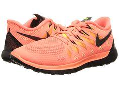 brand new fea1d 8b111 Nike nike free 5 0 14 bright mango volt peach cream black