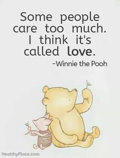 EXLUSIVE & POWERFUL selection of best cute love quotes from the heart can help you describe one of the most profound emotions in words. Cute Love Quotes, Love Quotes For Her, Disney Quotes About Love, Winnie The Pooh Quotes, Winnie The Pooh Friends, Piglet Quotes, Pooh Bear, Wedding Quotes, Positive Quotes