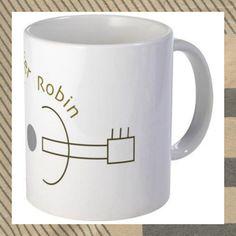 Ceramic Coffee Mug by Jennifer Robin Designs