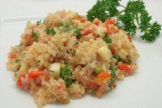 Ultimate Daniel Fast: Fresh Vegetables and Quinoa