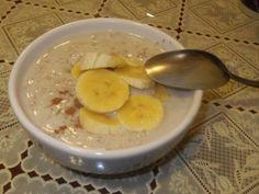 Desayunar avena con plátano te ayuda a disminuir el colesterol