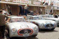 Mercedes SL LeMans . .Phil Hill photo