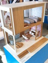 Modern Doll house #kids #therapy #playtherapy