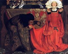 The Pale Complexion of True Love, 1899, by Eleanor Fortescue Brickdale