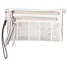 white snakeskin clutch (125 BRL) ❤ liked on Polyvore featuring bags, handbags, clutches, chain shoulder bag, white shoulder bag, white purse, white hand bags and chain strap shoulder bag