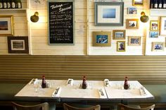 Fish and Chip Shop Fish And Chip Shop, Tapas Bar, Fish And Chips, Ping Pong Table, Gallery Wall, Harry Ramsden's, Interior, Restaurant Ideas, Birmingham
