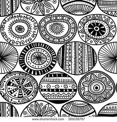 Ethnic tribal style black circles seamless pattern on white background. Can be printed and used as wrapping paper, wallpaper, textile, fabric, etc. ----- #yuliiabahniuk, abstract, african, apache, aztec, background, boho, cartoon, circle, decoration, decorative, doodle, ethnic, fabric, fashion, folkloric, geometric, graphic, hippie, illustration, indian, maya, national, navajo, ornament, ornamental, pattern, peru, print, round, seamless, textile, traditional, trendy, tribal, ukrainian…