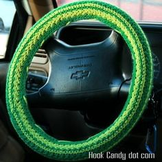 I might have to buy this Steering Wheel Cover Pattern to make for my Swagger wagon