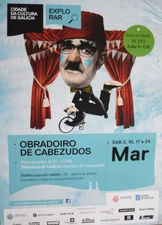 Obradoiro de Cabezudos na Cidade da Cultura 2012. Impartido por Viravolta Títeres. Director do taller Misha Bies Golas