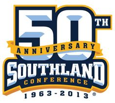 Southland  Conference Anniversary Logo (2013) - Southland Conference 50th Anniversary logo