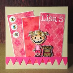 I've got two super SWEET cards to share today. Eva used our Double Trouble stamp set and a freebie digital stamp. Digital Stamps, Puppy Love, Printables, Puppies, Cards, Label, Search, Angels, Embroidery