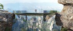 3-A New Route on Zhangjiajie by Martin Duplantier Architectes 即使结构的聪明,也是设计的聪明呢