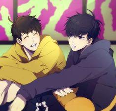 #wattpad #random Es hora de Osomatsu-san en WhatsApp.   Aunque sus converesaciones no son muy largas siguen manteniendo el amor odio de hermanos :D  Disfrutad la lectura ^3^  Portada hecha por @YeniiMD ~^~