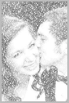 create a portrait using your words...