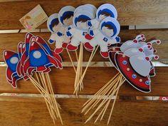 Toppers de mesa o de docinhos . deixam sua festa um charme !! de docinhos - 0,65 de centro de mesa com 15 cm - 2,20 R$ 0,65