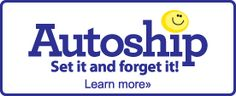 Now offering AutoShipping!