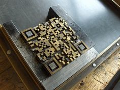 The letterpress QR-Code generator