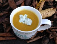Roasted squash & apple soup with Stilton - CookTogether