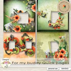 For my buddy Quick pages :: Quickpages :: Memory Scraps