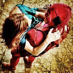 Shot cut from the final film of SUPER, with Rainn Wilson and Liv Tyler.