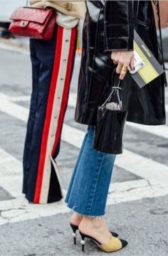 Street Style, NYFW, New York Fashion Week, Gucci Tracksuit, Tommy Ton