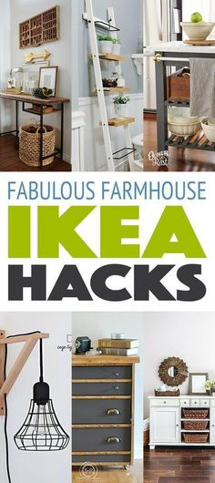 Fabulous Farmhouse IKEA Hacks
