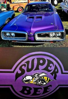 Dodge Super Bee American muscle cars are actually a staple of the actual automobile industry Dodge Muscle Cars, Best Muscle Cars, American Muscle Cars, Muscle Mass, Dodge Super Bee, Ford Mustang, Automobile, Best Classic Cars, Transporter