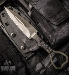 Hardcore Hardware Australia Special Operations Tool ASOT-01 Tactical Personal Protection Knife SOCP Compliant - Graphite Grey