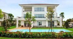 Thiết kế xanh tại biệt thự Hoa ANh Đào Vinhomes Riverside