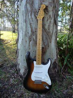 Fender Stratocaster JV Squier '57 - Made in Japan (2 tone 'burst) | Guitars & Amps | Gumtree Australia Brisbane North East - Clayf...