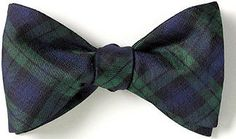 Black Watch (BLW293) $43. An immensely popular Scottish plaid of navy and green. British woven silk tartan. Premium British Woven Silk. Handmade in America.