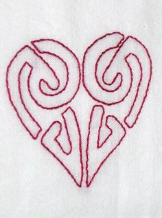Celtic knot heart tea towel by BSCrafts on Etsy, $12.99  Happy Valentines Day!