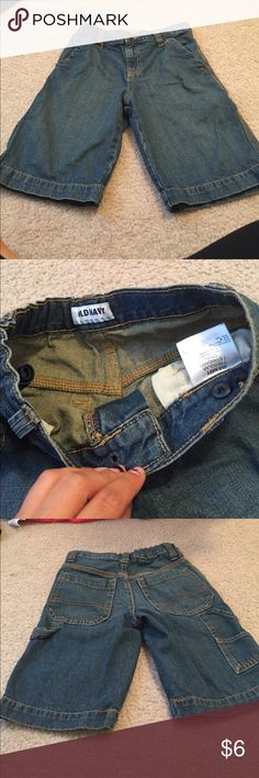 Old navy cargo jeans Old navy boy cargo jeans. Worn and washed once Old Navy Bottoms Shorts