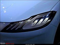 Mahindra Halo Car Design Sketch, Car Sketch, Car Headlights, Head Light, Light Design, Exterior Lighting, Transportation Design, Car Lights, Automotive Design
