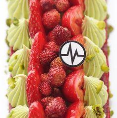 Pistache fraise fraise des bois, Michalak, avril 2016