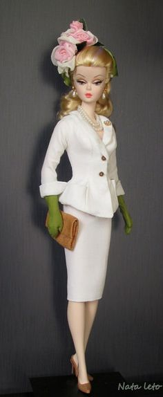 "Dolls Silkstone Fiorella , suit ""Evita"" | Flickr - Photo Sharing!"