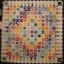 Dear Jane rainbow quilt.