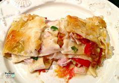 Recipe Box, Club Sandwich Lasagna | The Painted Apron