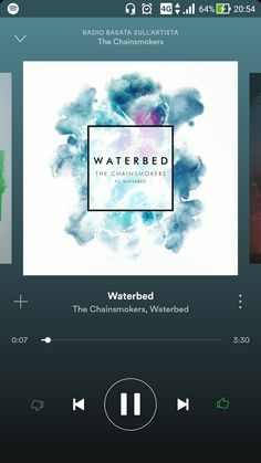 """The Chainsmokers, Waterbed - Waterbed """"...Tonight, light a fire, we'll be flying up and higher. Burning bright, taking flight as we leave all our worries behind..."""""""